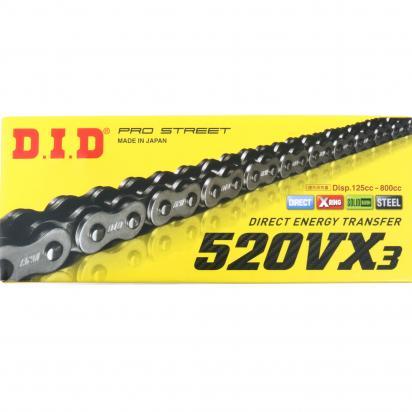 Kawasaki EX 300 Ninja (US Market) 17 Chain DID VX3 Heavy Duty X-Ring