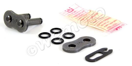 Honda CD 125 T  Benly (6 Volt) 78-79 Chain DID VX Heavy Duty X-Ring Black Spring Link
