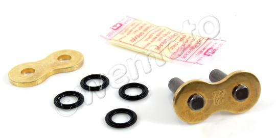 Suzuki GSXR 750 K1 01 Chain DID VX X-Ring Premium Gold & Black Rivet Link