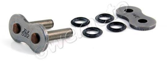 Suzuki GSXR 1100 WP (GU75C) 93 Chain DID ZLV Super Heavy Duty X-Ring Black Rivet Link