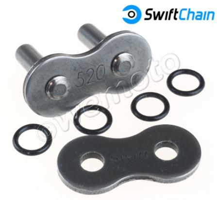 Aprilia RX 125 (Grimeca rear caliper) 10 Swift Connecting Link O-Ring Riveted