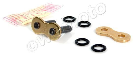 SWM SM 500 R 17 Řetěz DID VX3 X-kroužek Premium zlato-černý - spojka nýtovací
