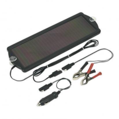 Battery Charger - Sealey SPP01 Solar Power Panel 12V/1.5W