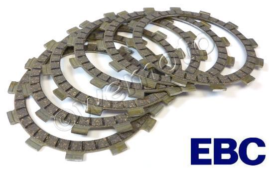 Suzuki GP 100 C Disk Brake 78-80 Clutch Friction Plate Set - EBC