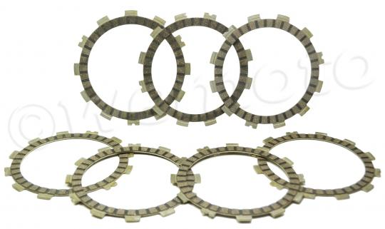 Suzuki GS 500 EM 91 Clutch Friction Plate Set - EBC