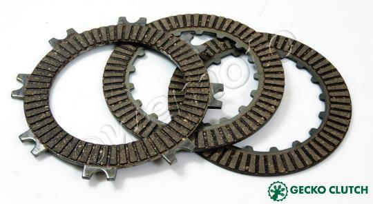 Honda CRF 70 FC 12 Clutch Friction Plate Kit - Gecko