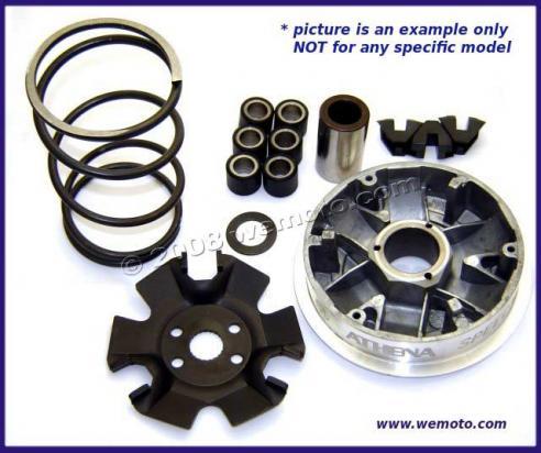 piaggio zip 50 (4t) 00-09 variator kit complete parts at wemoto