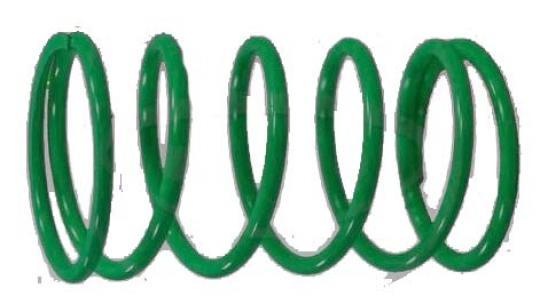 Derbi GP1 50 04 Pružina variátoru - 25kg (zelená)