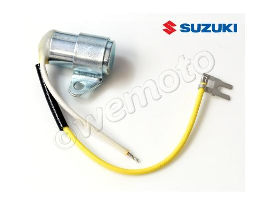 Suzuki GT 250 B 77 Ignition Condenser Right - Genuine Suzuki