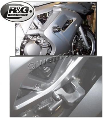 Suzuki SV 650 SK4 04 Crash Protectors - Classic Style by R&G Racing