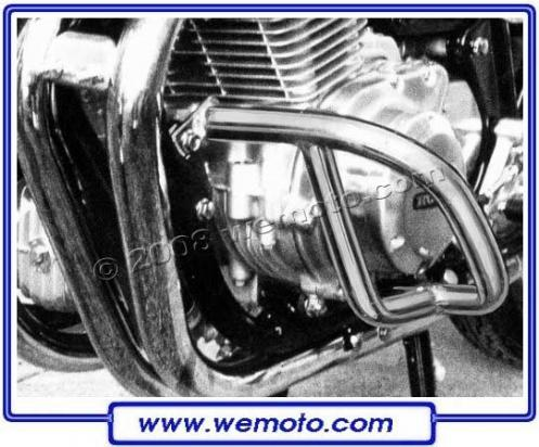Honda CB 750 KZ 79-82 Engine Bars - Chrome - Pair