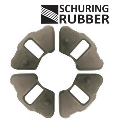 Honda C 90  70-82 Cush Drive Rubber Set By Schuring