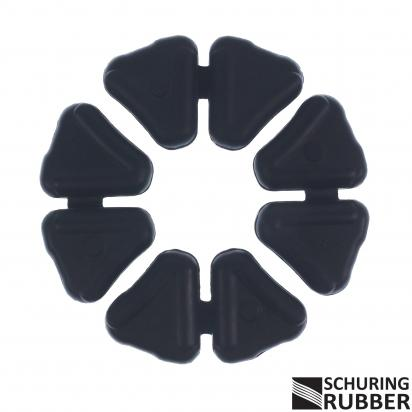 Honda Wave AFS110i SHD (Front Drum Model) 13 Cush Drive Rubber Set By Schuring