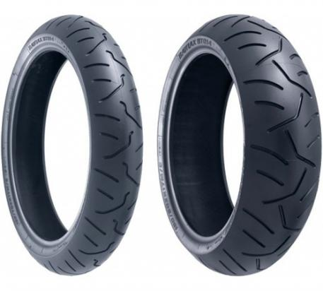Bridgestone BT014 Pair Front 120/70ZR17 Rear 190/50ZR17