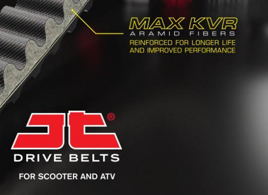 Aprilia Atlantic Sprint 400 (Marzocchi Forks) 04-08 Drive Belt JT Max Kevlar