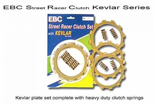 Kawasaki ZL 1000 A1/A2 Eliminator 87-90 Clutch Kit - EBC SRC Series