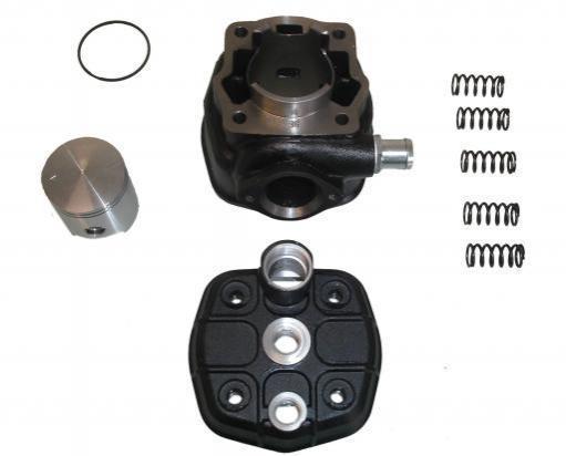 Derbi GPR 50-R 06 Pistón y cilindro - Kit sobremedida