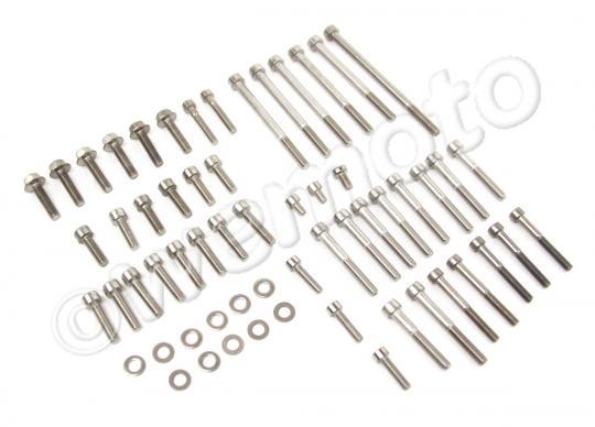 Suzuki GT 550 L/M 74-75 Engine Casing Stainless Steel Screw Kit
