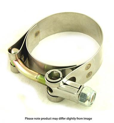 Kawasaki Z 440 LTD (KZ 440 A2) 81 Exhaust Clamp - Stainless Steel - Downpipe to Silencer