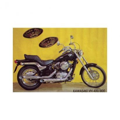 Kawasaki VN 800 A3/A4 97-98 Marving LEGEND Custom Silencers - Chrome
