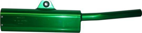 Exhaust Tailpipe Trail Green Universal