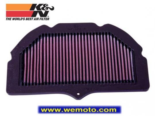 Suzuki GSXR 750 K1 01 Air Filter K&N - Performance and Washable