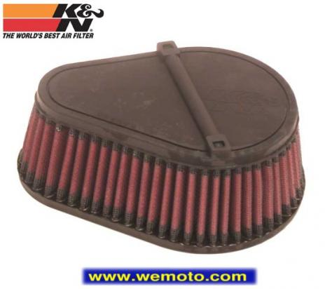 Suzuki DR 650 SE K4/K5/K6/K7/K8/K9/L0/L1/L2 (SP46) (US Market) 04-11 Air Filter K&N - Performance and Washable