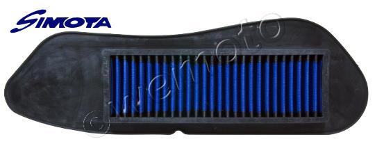 Yamaha YP 125 R X-Max 08 Filtre à Air Performance Simota - Lavable