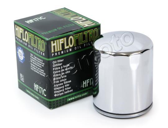 Buell X1 1200 Lightning 99 Filtro Aceite HiFlo - Cromado