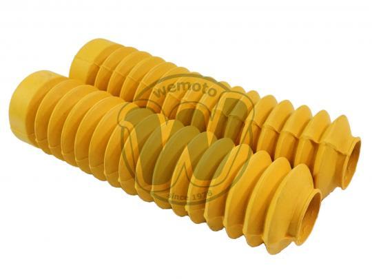 Honda XL 125 SZ/SA/SB/SC 79-82 Fork Gaiters Yellow