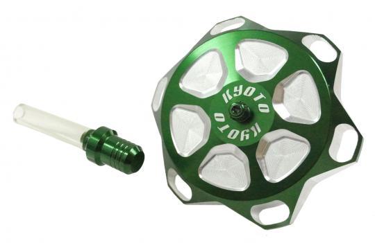 Kawasaki KX 100 B7 97 Fuel Cap - Green