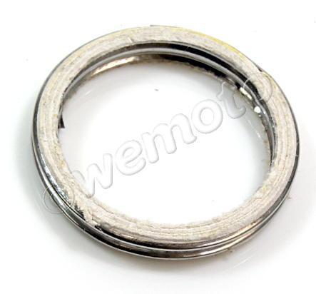 Benelli 491 50 LC (All rear disc models) 03-04 Junta de Escape Delantera - Fibra Aluminio