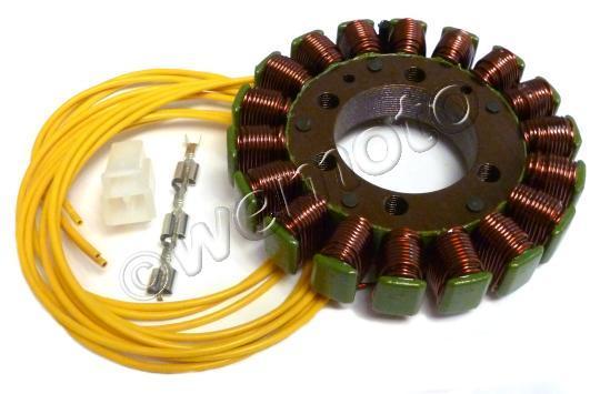 Kawasaki ZX-6R (ZX 600 F2-F3) 96-97 Generator - Stator - by Electrex