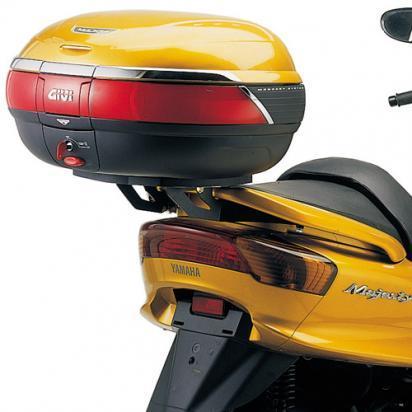 Yamaha yp 250 majesty 98 givi luggage - monorack kit with monokey