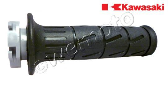 Kawasaki ZZR 1400 ABS (ZX 1400 DBF) 11 Handlebar Grip - Right - Throttle Side (Includes Pipe) - OEM