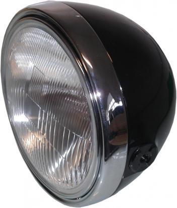 Headlight Complete Universal Round 8 inch