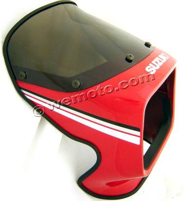 Suzuki GS 125 UX Kick Start 99 Headlight Fairing - Red