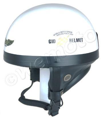 Helmet Classic White L (57-58) Non-homologated, Not Road Legal