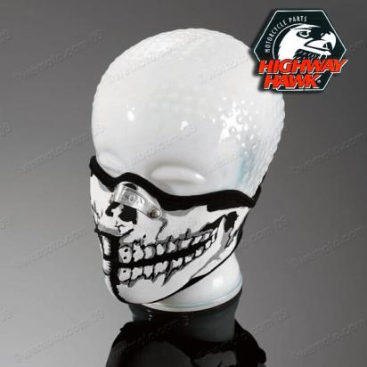 Face Mask Half SKULL-MAN by Highway Hawk