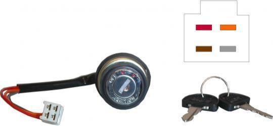 Suzuki GT 550 A/B 76-77 Ignition Switch