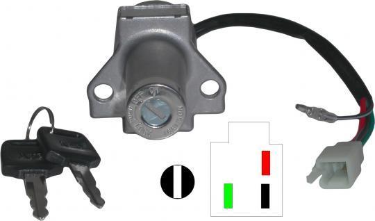 Honda CB 125 RS 83-86 Ignition Switch