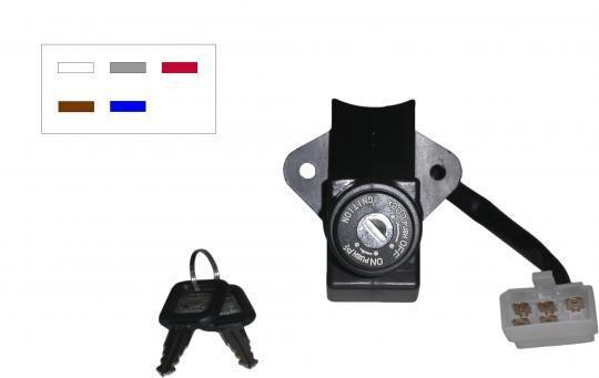 Kawasaki ZX-6RR (ZX 600 M1) 04 Ignition Switch
