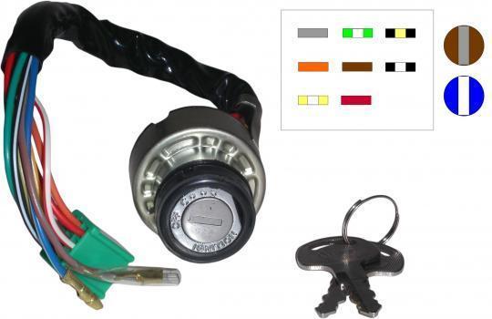 Suzuki ZR 50 SLKX 81 Ignition Switch