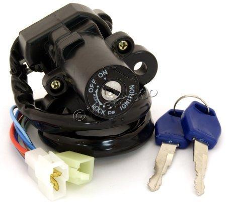 10030076 yamaha yzf 600 r6 01 02 ignition switch parts at wemoto the uk's yamaha ignition switch diagram at aneh.co