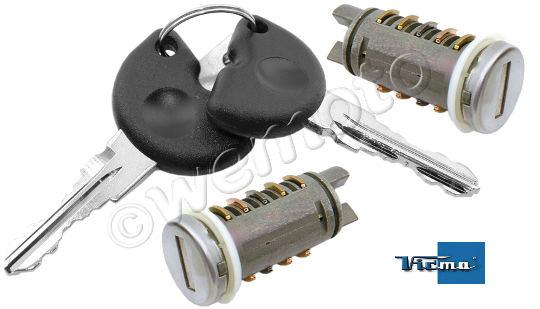 piaggio zip 50 (2t) 11 ignition switch plus lock set parts at