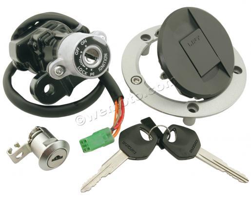 Suzuki SV 650 SAK8 08 Ignition Switch Plus Lock Set