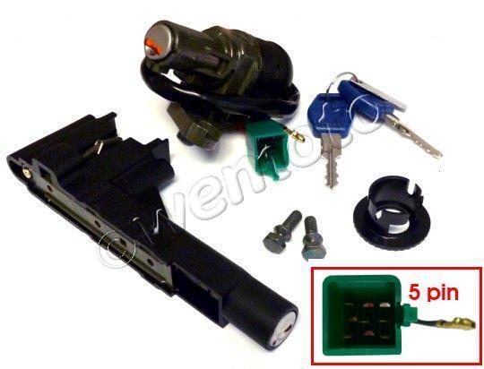 Suzuki AY 50 WRW/K3-4 Katana Watercooled 03-04 Ignition Switch Plus Lock Set