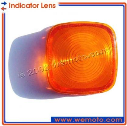Honda CD 125 T  Benly (6 Volt) 78-79 Indicator Lens Rear Right