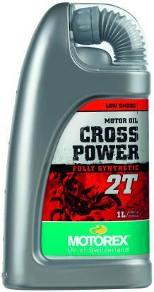 Motorex Cross Power 2T Fully Synthetic Off-Road - 1 Litre
