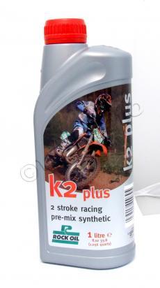BSA Bantam Trials 125 49-55 Huile 2T ROCK OIL - 100% Synthétique - 1 litre